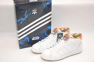 Adidas Originals Star Wars Stormtrooper Super Skate Mid White Mens