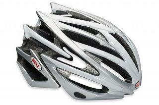 new bell volt helmet matte silver white med lg more