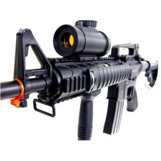 Double Eagle M83 Electric Automatic Airsoft Rifle w 2 Mag Clip + Fast