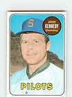 1969 topps 631 john kennedy near mint