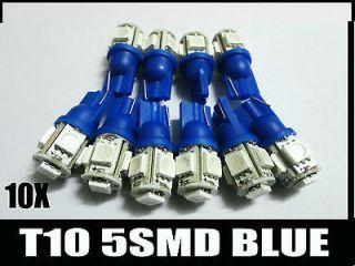 10X T10 194 168 W5W 904 906 193 5 SMD LED Car Auto Side Wedge Lights