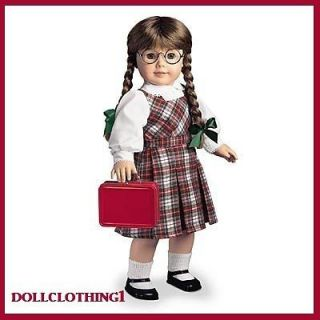 American Girl Molly School Outfit NEW RETIRED Jumper & Blouse