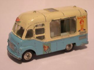 corgi smiths karrier ice cream van mister softee time left