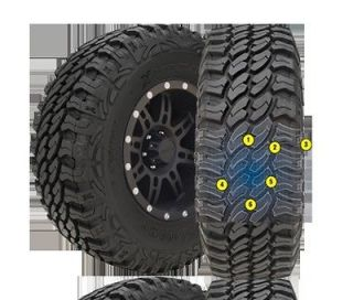 Pro Comp Xtreme Mud Terrain Tire 265/70 17 Outline White Letters