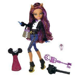 Monster High Sweet 1600 Clawdeen Wolf Doll New Accessories Dolls Games