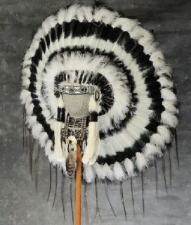 native american shadow dancer war bonnet headdress time left $