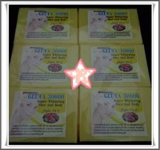 30000 GLUTATHIONE SKIN WHITENING BLEACHING LIGHTENING SOAP FOR