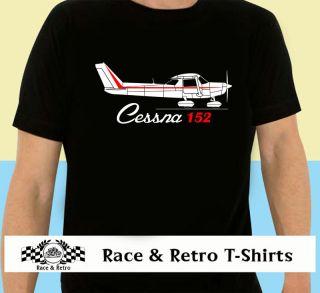 race retro classic cessna 152 ppl aviation t shirt more options