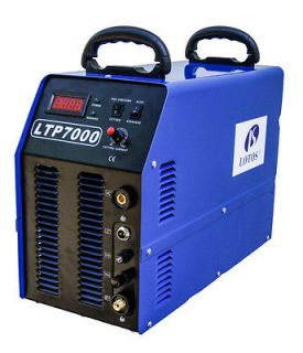 LOTOS IGBT 70 Amps Pilot Arc Plasma Cutter LTP7000 with CNC cutting