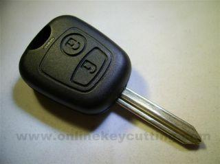 Peugeot Citroen Remote Car Key Case Fob Blade New Replacement Repair