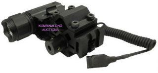 Trirail Mount w/ Laser + Light Fits SR22 SR556 Colt Umarex Mossberg