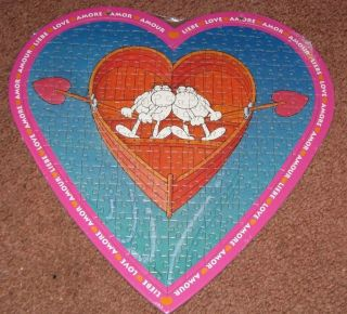 RARE HEYE   MORDILLO 215 pc LOVE PUZZLE Valentines Day*WE BELONG