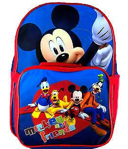 mickey mouse backpack lunchbox set  17 95