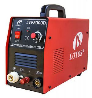 LOTOS LTP5000D 50A Pilot Arc IGBT Powerful Plasma cutter w/all