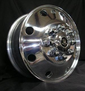 17 X 6.5 2005 12 8 on 200 DUALLY FORGED ALCOA WHEELS JUST IN FORD