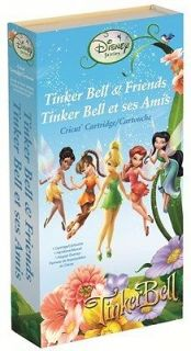 cricut tinker bell and friends cartridge brand new time left