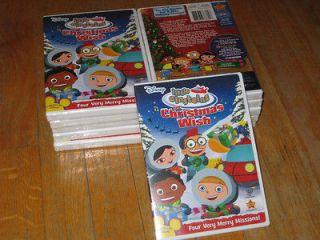 Disneys Little Einsteins The Christmas Wish (DVD, 2008) Brand New