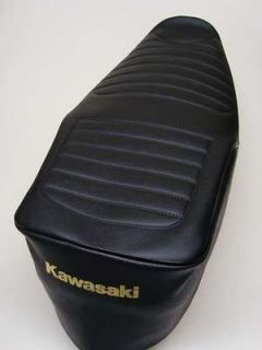 Motorcycle seat cover   Kawasaki GT750 (shaft drive) *free p&p*
