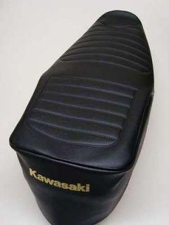 Motorcycle seat cover   Kawasaki GT750 (shaft drive) *free p&p*