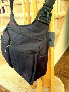 Michael Air Jordan Nike Laptop Messenger Bag Jumpman Backpack Black