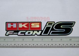 hks f con reflective car racing decal sticker free p