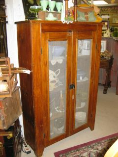 very nice antique pie safe  469 00
