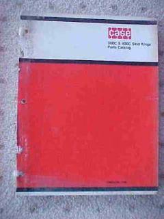 1970 case tractor 300c 400c skid kings parts catalog v
