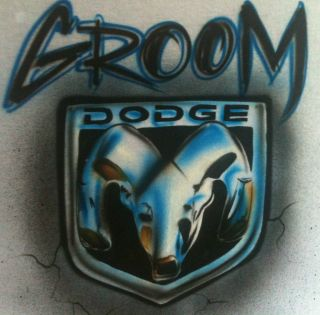 AIRBRUSHED DODGE RAM HEMI DADGE 4X4 CHEVY FORD GMC TRUCK T SHIRT