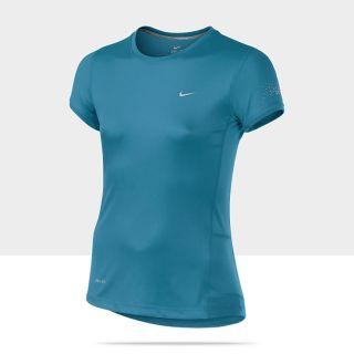 Nike Miler Short Sleeve Girls Running Shirt 521937_422_A