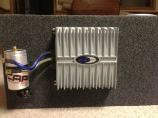 Rockford Fosgate 12 Subwoofer   RF Power Amplifier   Monster