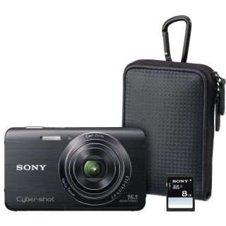 New Sony DSCW650 BFD Fathers Day Bundle 16 1 Megapixel