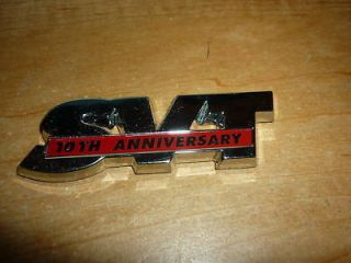 2003 Ford Mustang SVT Cobra 10th Anniversary Emblem