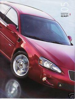 2005 Pontiac Grand Prix GXP Brochure