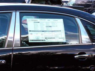 Chevy Impala Chrome Pillar Posts 2006 2010 6pcs