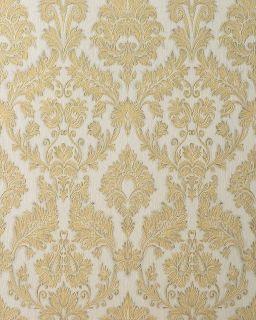 Edem 708 30 Wallpaper Heavywegiht Ebossed Baroque Damask Champagner