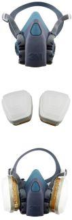 3M™ 7502 Respirator Reusable Half Face Mask with Filters 7500 Medium