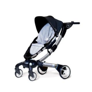 NEW 2012 4MOMS ORIGAMI AUTOMATIC POWER FOLDING STROLLER BLACK GRAY