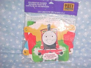 Thomas the Train HAPPY BIRTHDAY PARTY BANNER Sign 5 75 Feet Long
