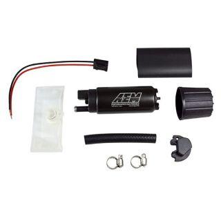 Aem P N 50 1000 High Flow in Tank Fuel Pump Offset Inlet Inline Outlet