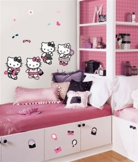 Hello Kitty Dress Up 56 Wall Stickers Room Decor