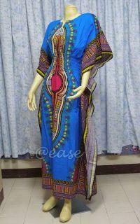 Cotton Kaftan Beautiful Hippy Butterfly Maxi Dress