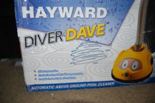 diver dave automatic above ground swimming pool cleaner vacuum ar700