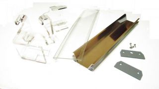 Aquarium DIY Kits Case Acrylic Front Cover Side Cover Mounting Bracket