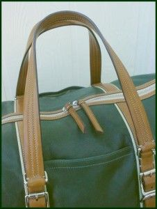 Coach Leather Travel Cabin Duffle Bag Weekend Gym Luggage Carry on