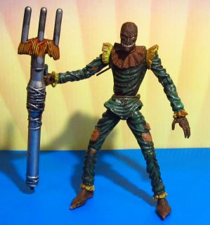 Animated Exclusive Scarecrow Action Figure Toy Biz 1998 RARE
