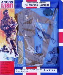 40th Anniversary 12 Action Man Gi Joe British Army Officer Uniform