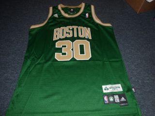 ADIDAS NBA BOSTON CELTICS SEBASTIAN TELFAIR ST. PATRICKS DAY SWINGMAN