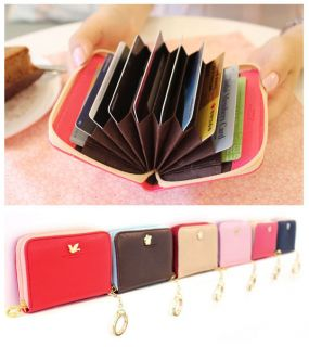 Faux Leather Accordion Card Case Ver 2 Shinzi Katoh Credit Card Holder