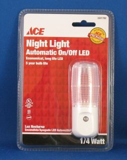 Ace Automatic on Off LED Night Light