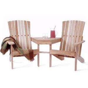 Cedar Outdoor Patio Garden Furniture Adirondack Chair